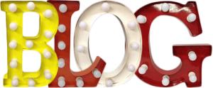 any old letters vintage carnival letters uk blog