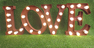 light up love sign light up love letters