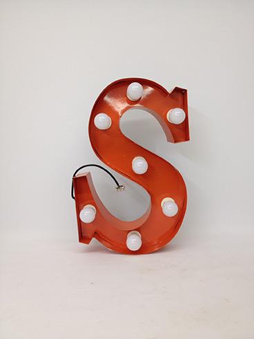 orange s marquee letter
