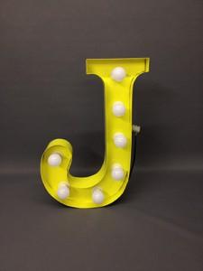 yellow j carnival letter